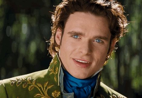 """Your heart will soar when Ella first lays eyes on Prince Charming (Richard Madden)… 