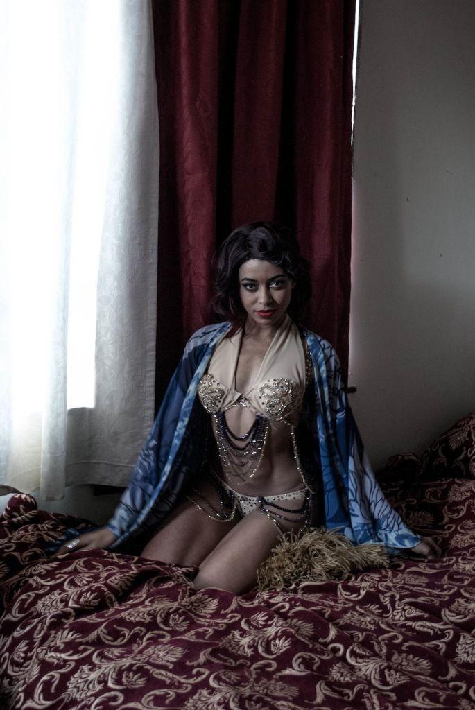 Miss Burlesque Finalist, Miss Zelia Rose!