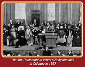 1893 Parliament of World Religions