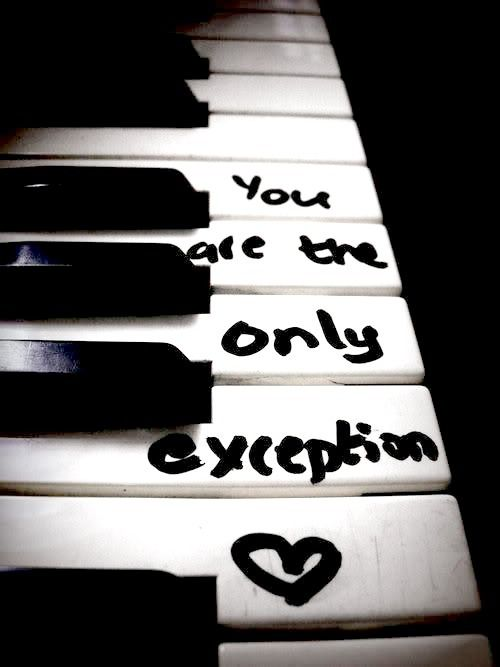 Paramore // The Only Exception