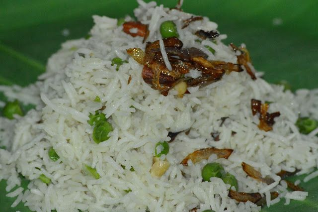 Peas Pulav | TasteURCooking