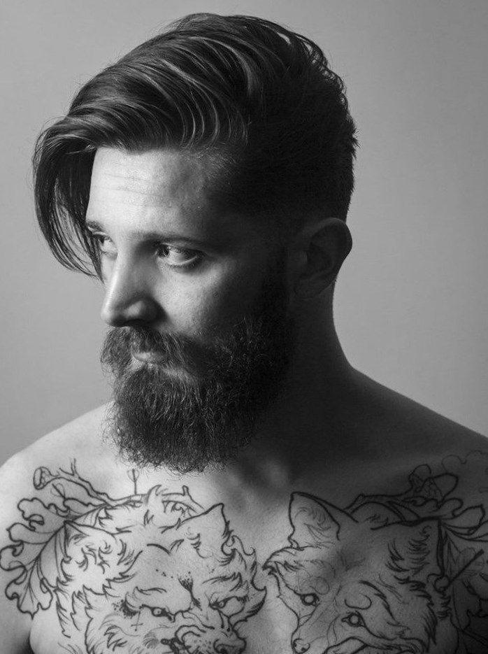 Männerfrisuren Mit Bart Frisuren Trendfrisuren2019 Frisurideen