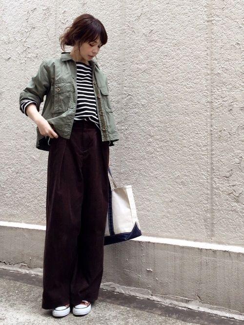 ari☆|FRAMeWORKのミリタリージャケットを使ったコーディネート - WEAR