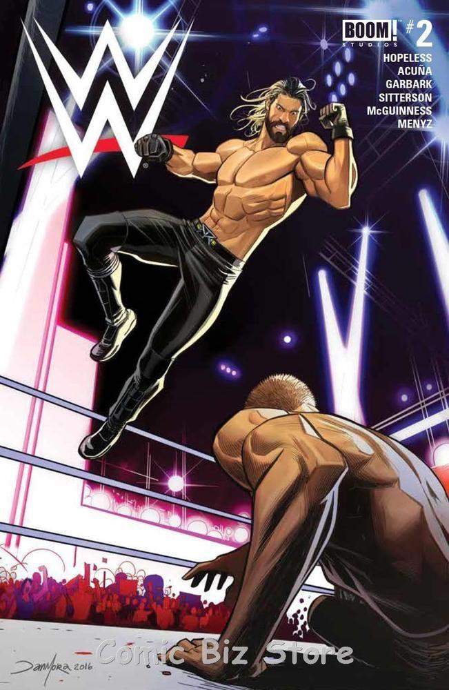 WWE #2 (2017) 1ST PRINTING MAIN COVER BOOM STUDIOS   Books, Comics & Magazines, Comics, US Comics   eBay!