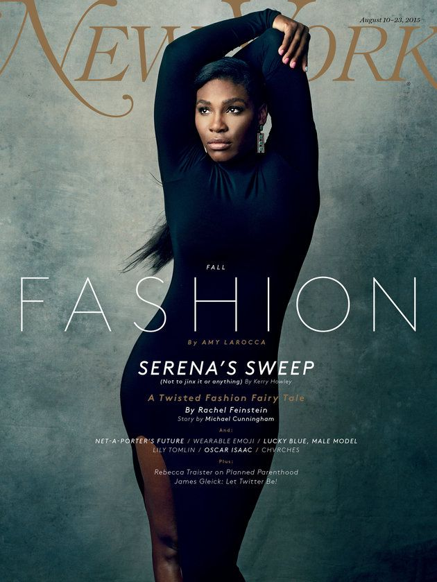 Serena Williams stuns on the cover of New York Magazine's Fashion Issue