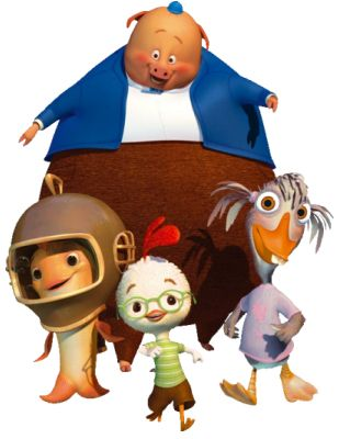 Chicken Little (2005) | Animation ~ Adventure ~ Comedy | This time the sky really is falling