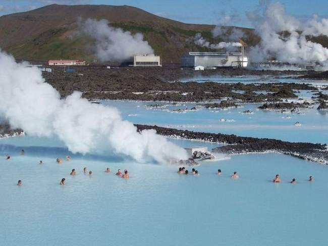 The Blue Lagoon,  hot spring,  ICELAND