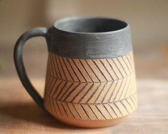 tazza in ceramica tazze di ceramica ruota di StoneHavenPottery