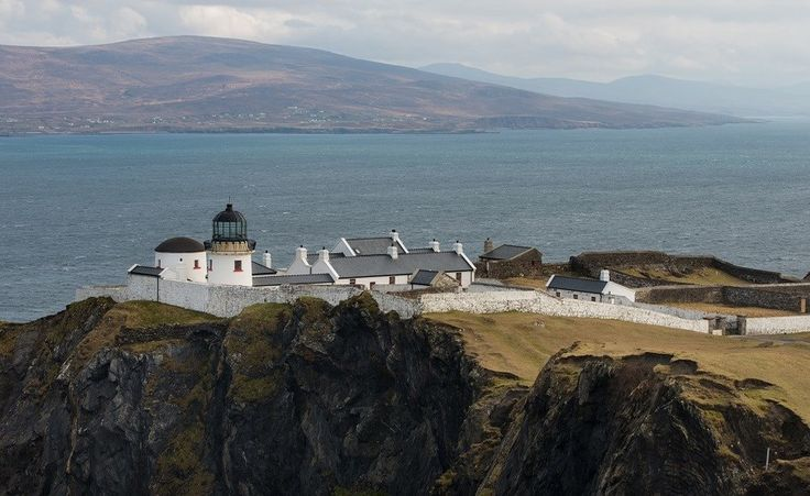 Clare Island Lighthouse, Ireland  http://www.historichotelsofeurope.com/property-details.html/clare-island-lighthouse