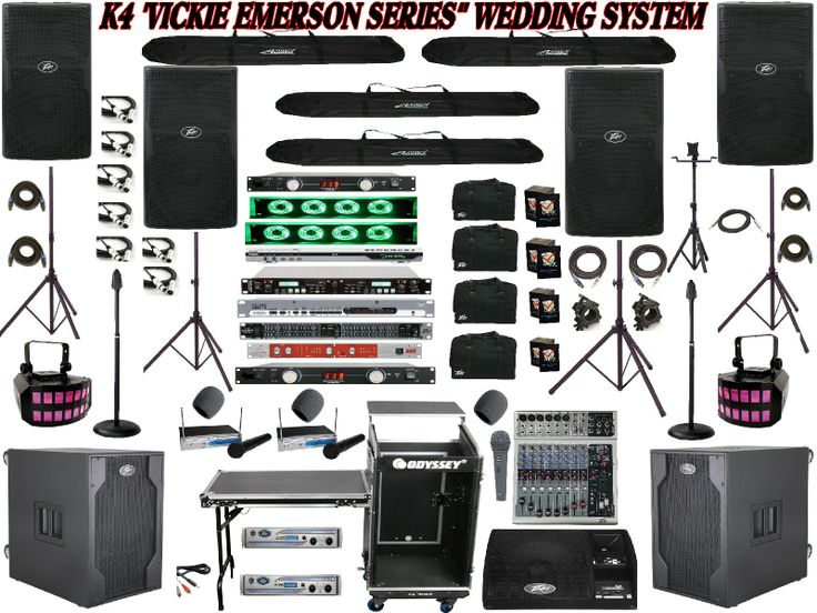 Professional karaoke equipment.  Full dj & karaoke system.