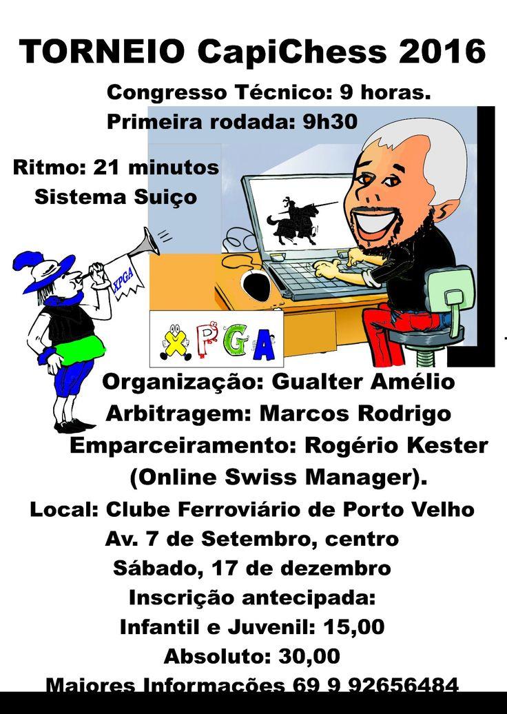 Torneio encerra as atividades enxadrísticas do ano na capital - Rondoniaovivo - Notícias, Classificados e Banco de Empregos de Rondônia