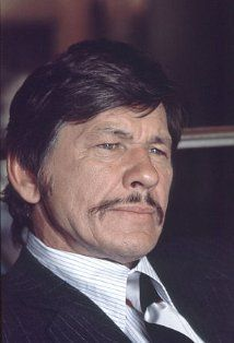 Charles Bronson (I) (1921–2003) because of his acting but mostly because of his love for his wife Jill Ireland and his dedication to her <3