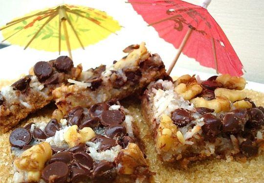 """Beach Cookies"" shredded coconut, chocolate chips & walnuts, yum!"