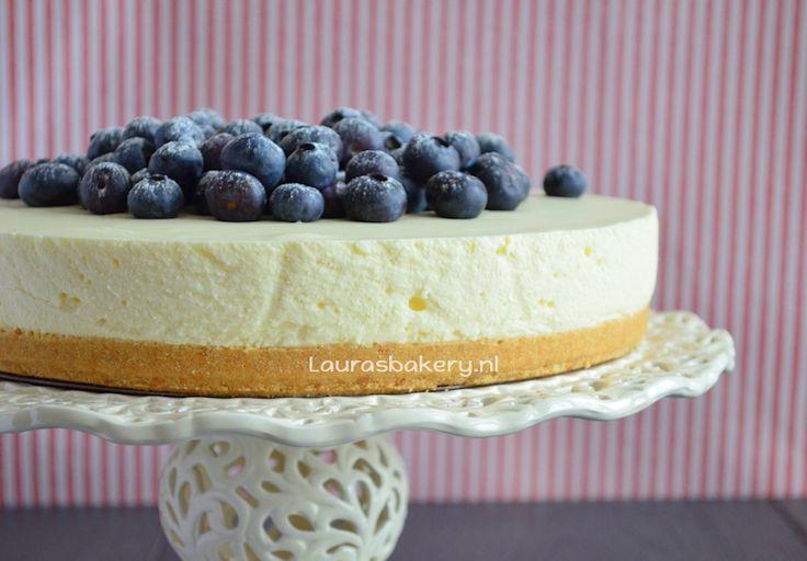 Vanille kwarktaart met blauwe bessen | Laura's Bakery | Bloglovin'