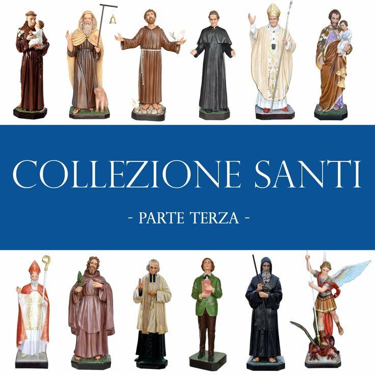 COLLEZIONE SANTI - parte terza -  visita la COLLEZIONE COMPLETA su   http://www.ovunqueproteggimi.com/collezione-statue/santi/