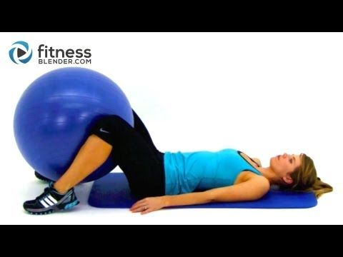 Full Body Workouts Using an Exercise Ball