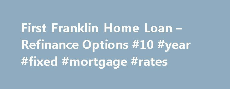 Best home loan options