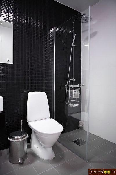 Amazing black tiles - #Bathroom #interiordesign #homedecor