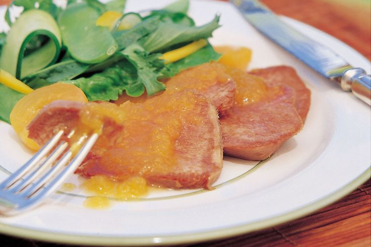 Pickled tongue with tangy apricot sauce - Make delicious beef recipes easy, for any occasion