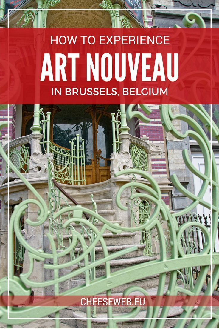 From walking tours to museums to restaurants, there are plenty of ways to discover Art Nouveau art and architecture in Brussels, Belgium.