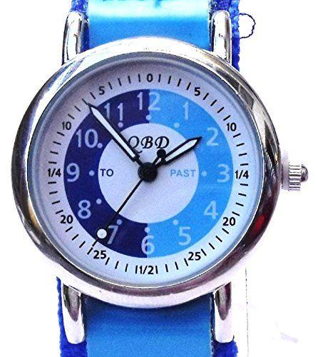Reflex Tutor: reloj de niños, correa de velcro, color: azul #Reflex #Tutor: #reloj #niños, #correa #velcro, #color: #azul