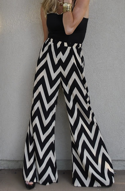 chevron pants! I totally bought these today!!