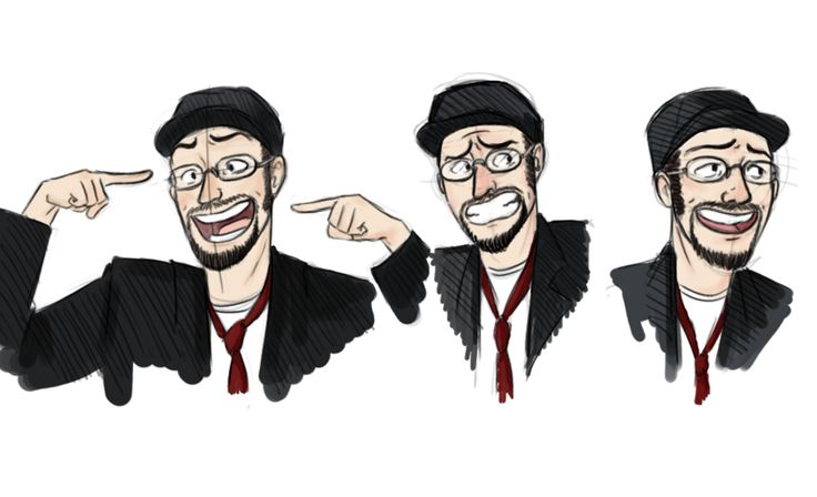 Nostalgia Critic sketches................... by Bestiolina on Deviantart