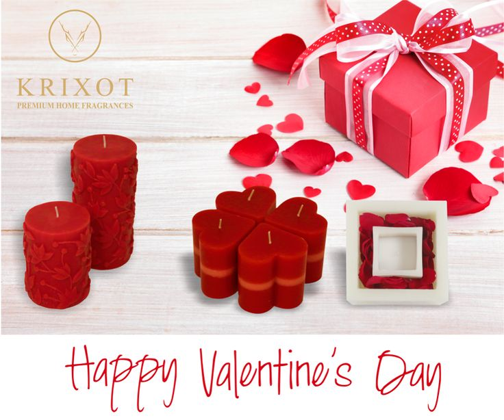 Let the aroma of #Krixot #Candles entwine you with love, laughter, and happiness...  Happy #ValentinesDay