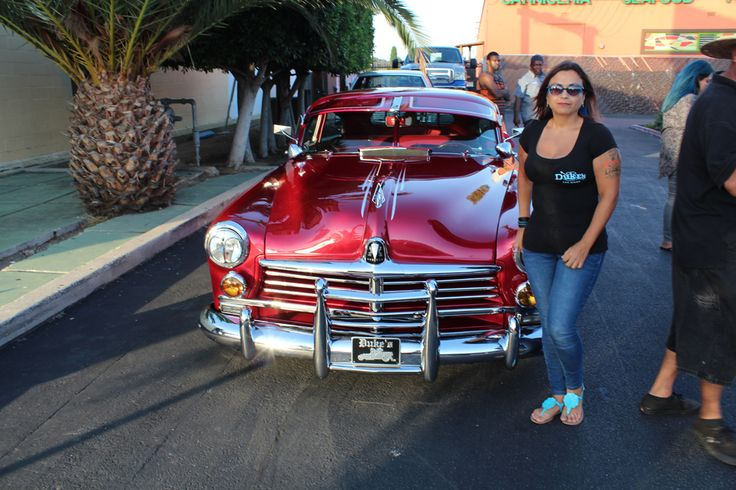 Women Lowriders Marisa Rosales and Her 1949 Hudson Show