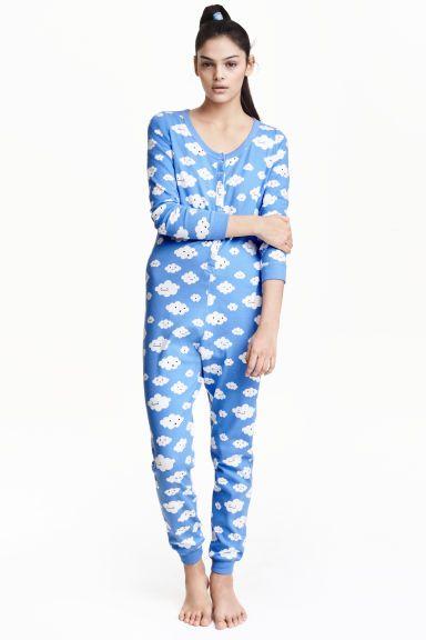 Pijama entero de punto | H&M