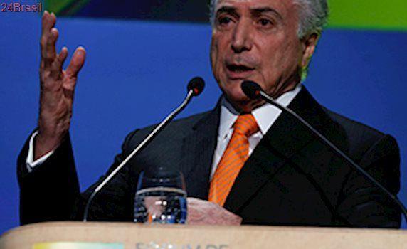Michel Temer diz que vai 'entregar a casa em ordem' no fim do mandato