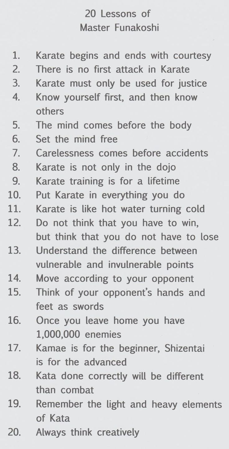 Gichin funakoshis twenty percepts translation martial art pinterest kampfk nste - Miyamoto musashi zitate ...