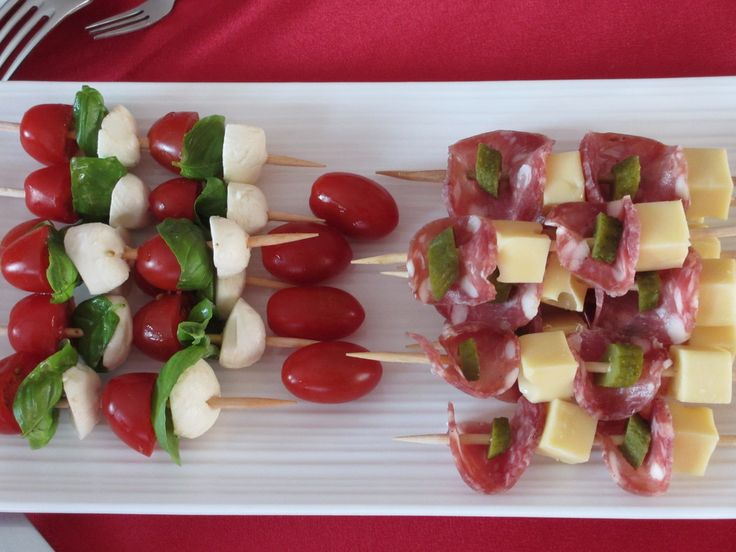 recette mini brochette | brochette tomates mozzarella basilic pour 6 mini brochettes ...