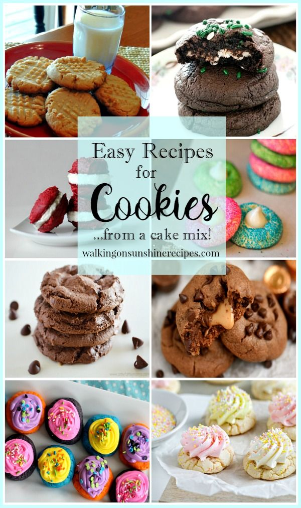 27 best allergy friendly cooking images on pinterest food how to make cookies with a boxed cake mix forumfinder Images