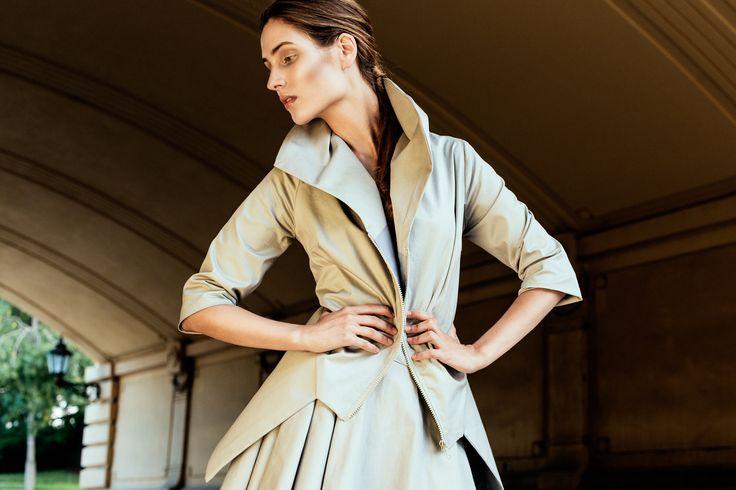 Fludra Slow Fashion set, designer Anna Fludra