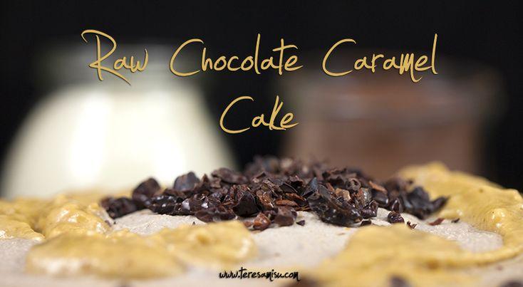 Raw Chocolate Caramel Cake