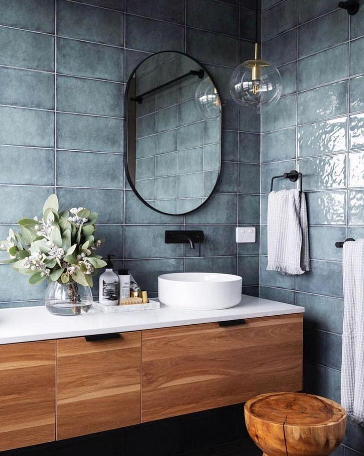 48 Imposante Ideen für Badezimmerfliesen #badezi…