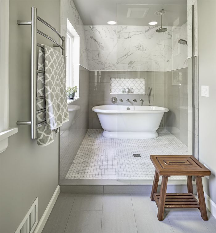 Wet Room- Is it for you? One of our favorite bathroom designs in 2014 was a wet room. Wet rooms go beyond your average bathroom, and are becoming more and more popular.