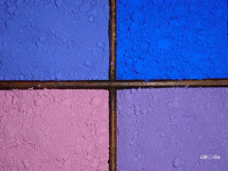 Casiers de pigments