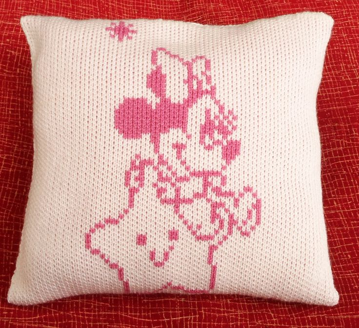 This decorative pillow is a gorgeous piece to have in your baby's bedroom and crib There are many patterns and colours to choose from! Many available on the etsy page ElenasNeatKnits ☻☺ Happy Shopping!