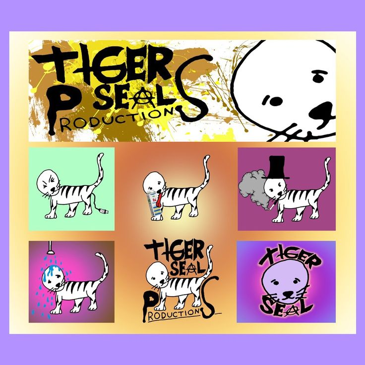 """Tiger-Seal Productions"" #tigersealproductions"