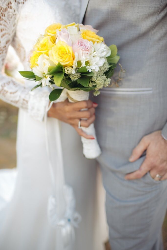 Hand Bouquet by Amara Universe
