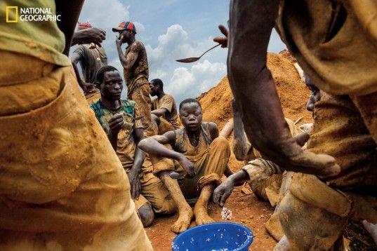 Marcus Bleasdale, precious minerals, conflict minerals, rare earth minerals, smartphones, Congo, child labor, environmental destruction, mining, National Geographic