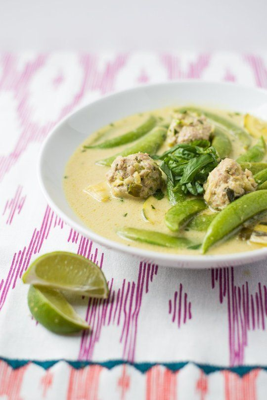 Nigella Lawson's Thai Turkey Meatballs Recipe