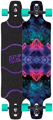 """DB Paradigm 41"""" Longboard Complete New 2016. DB Longboards Paradigm Longboard Measures 41"""". Bear Grizzly Black 180mm Longboard Trucks. Teal Cloud Ride Cruisers 69mm 78a Longboard Wheels. Black Laser Cut Grip Tape Applied. Comes Fully Assembled and Ready to Ride."""