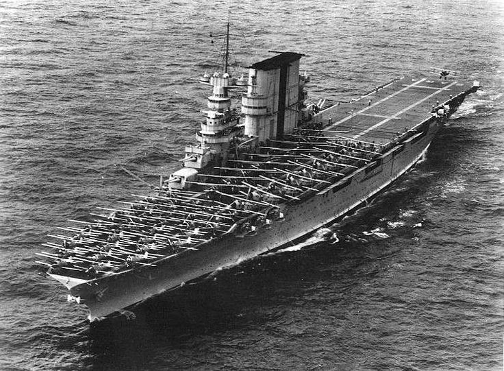 USS Saratoga CV-3 - Lexington class Aircraft Carrier