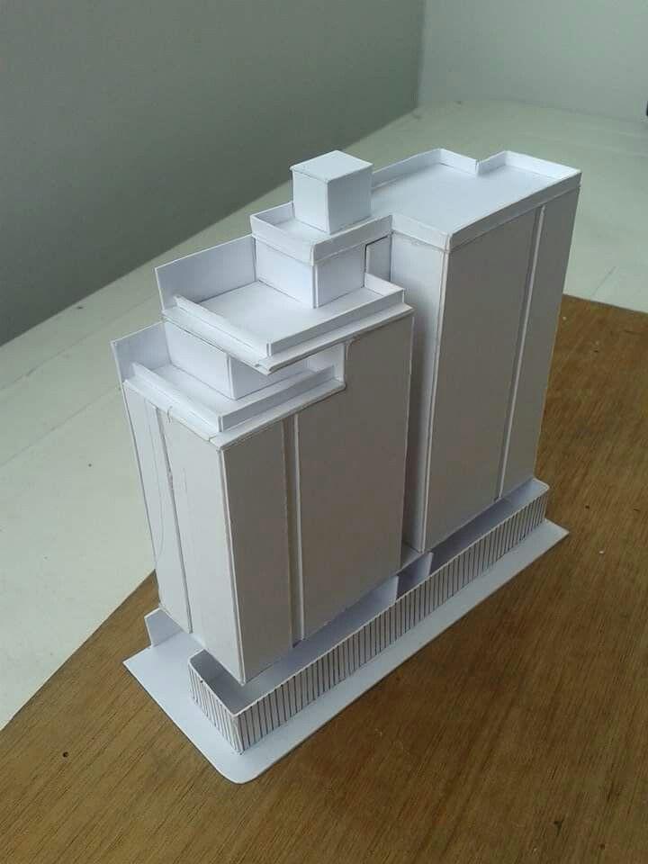 """Maqueta proceso volumétrico proyecto """"Diseño Arquitectónico de vivienda multifamiliar en el barrio la ceiba, Cùcuta"""" Con Yanelly R-J  en Convenio Constructora Gamboa&Ramirez Arq e Ing Ltda y UFPS Cùcuta"""