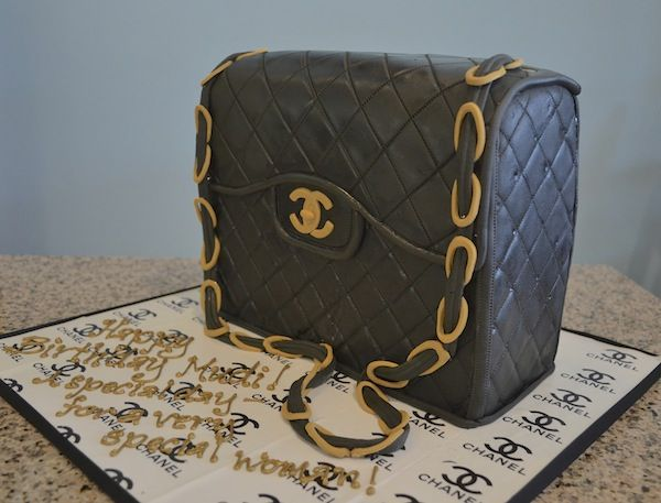 Chanel Purse Cake: for when you like your accessories so much you just want to eat them up!