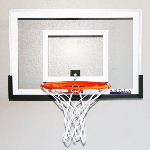 1000 images about mini pro basketball hoops on pinterest for Basketball hoop inside garage