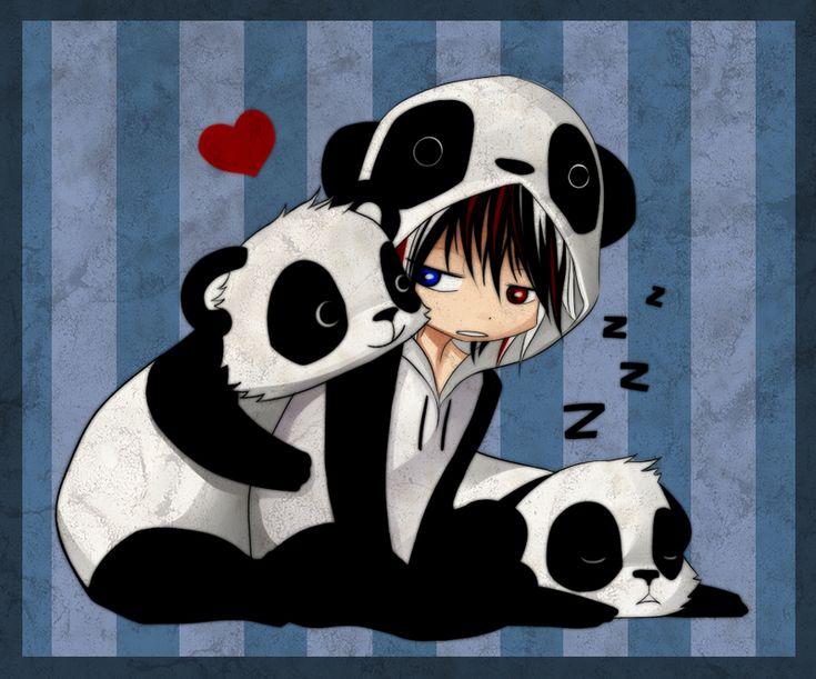 Cute Anime Panda | Panda Love by ~Naimane on deviantART